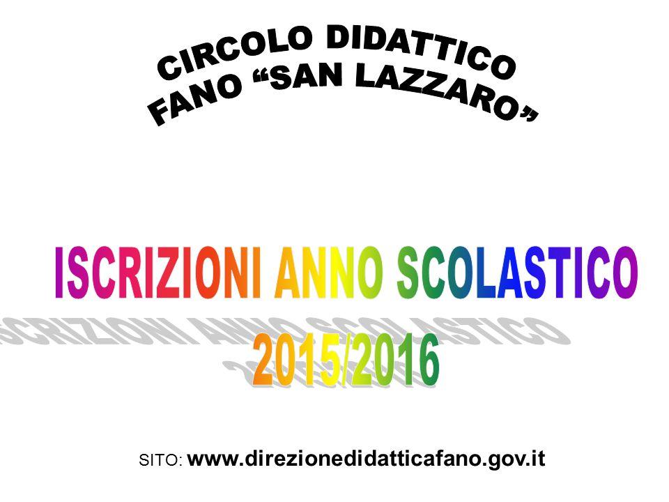 SITO: www.direzionedidatticafano.gov.it