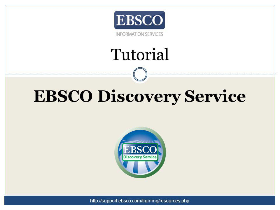In ogni momento, durante la vostra sessione, cliccate su Help per consultare una guida completa dedicata ad EDS.