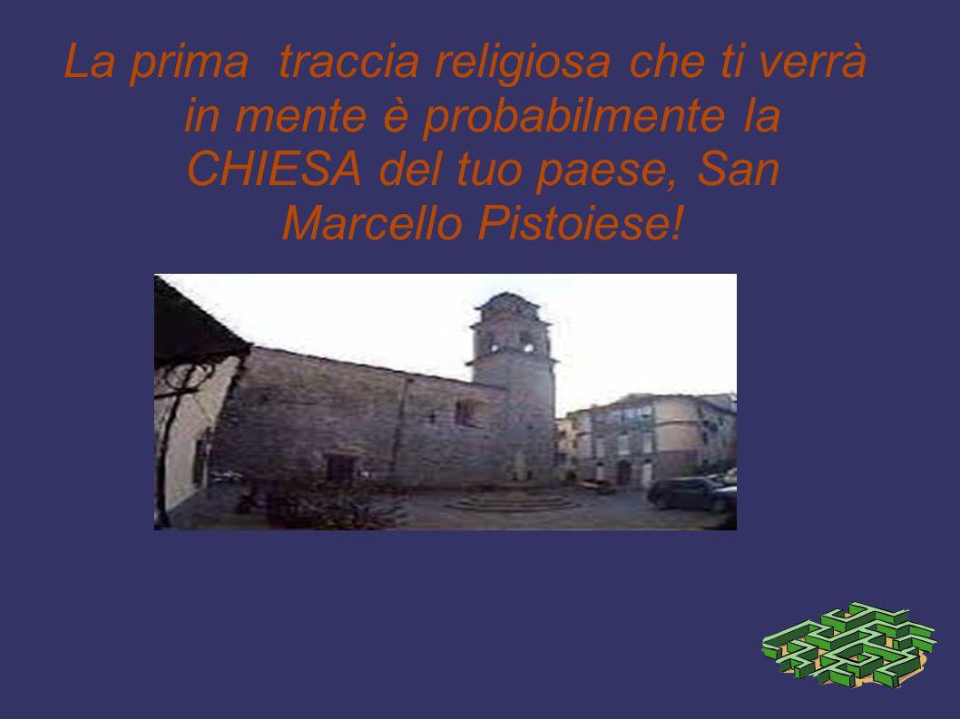 Come sapete dentro alla Chiesa di San Marcello è conservato il corpo di Santa Celestina che si festeggia l 8 settembre!