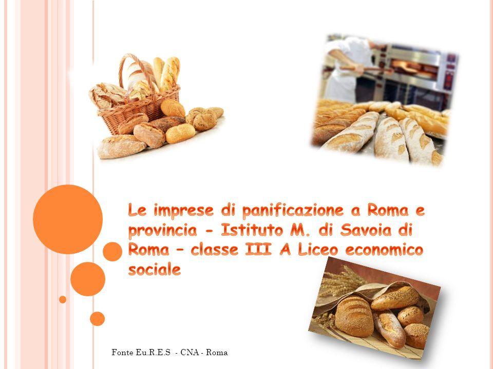 L'indagine campionaria è stata realizzata da Eu.R.E.S (istituto di ricerche economiche e sociali) per conto della CNA, attraverso la somministrazione di un questionario ad un campione di 404 panificatori di Roma e provincia.