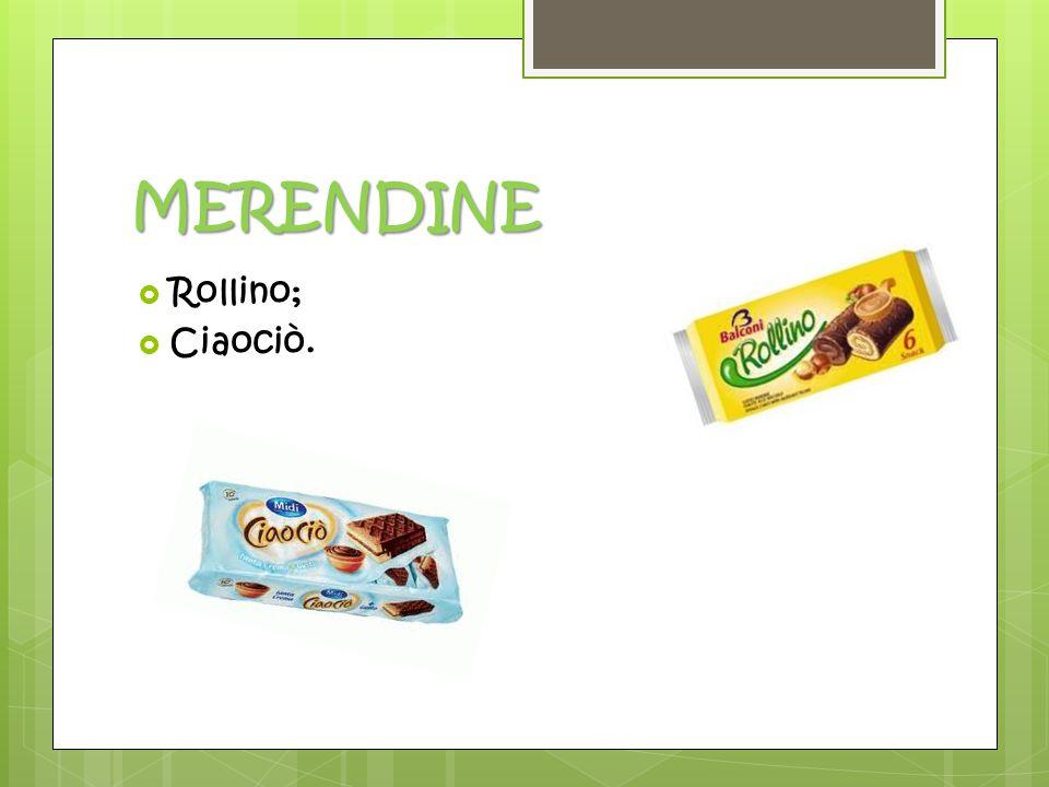MERENDINE  Rollino;  Ciaociò.