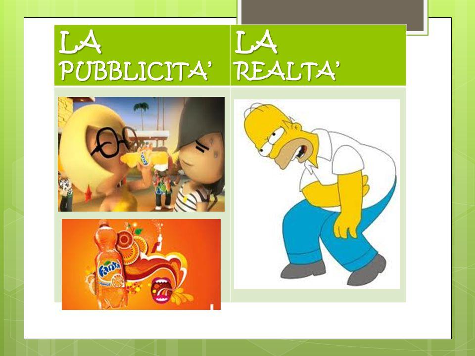 LA PUBBLICITA' LAREALTA'