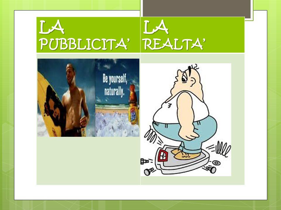 LAPUBBLICITA'LAREALTA'