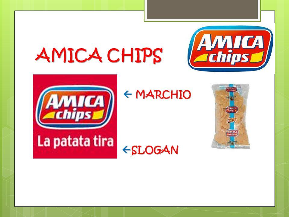 AMICA CHIPS    MARCHIO  SLOGAN  SLOGAN