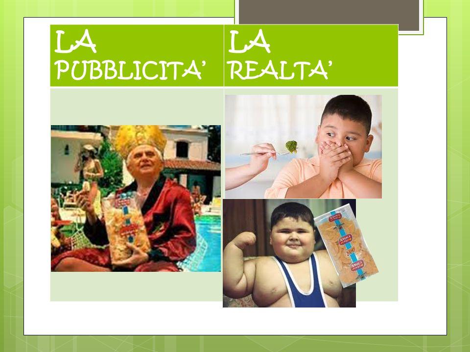 LA PUBBLICITA' LA REALTA'