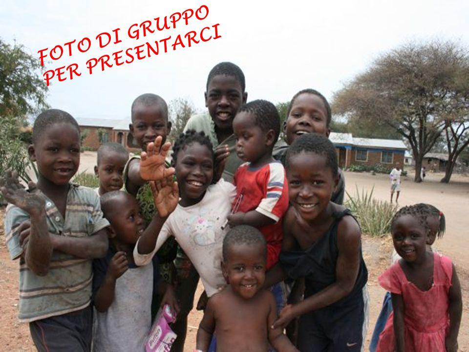 FOTO DI GRUPPO PER PRESENTARCI