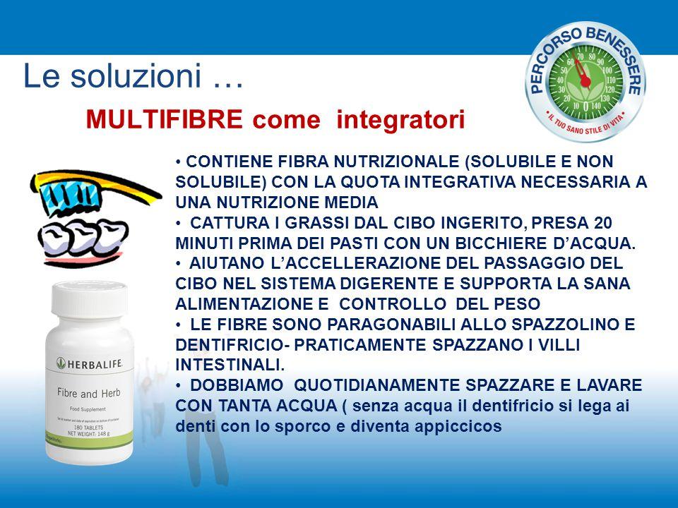 MULTIFIBRE come integratori CONTIENE FIBRA NUTRIZIONALE (SOLUBILE E NON SOLUBILE) CON LA QUOTA INTEGRATIVA NECESSARIA A UNA NUTRIZIONE MEDIA CATTURA I