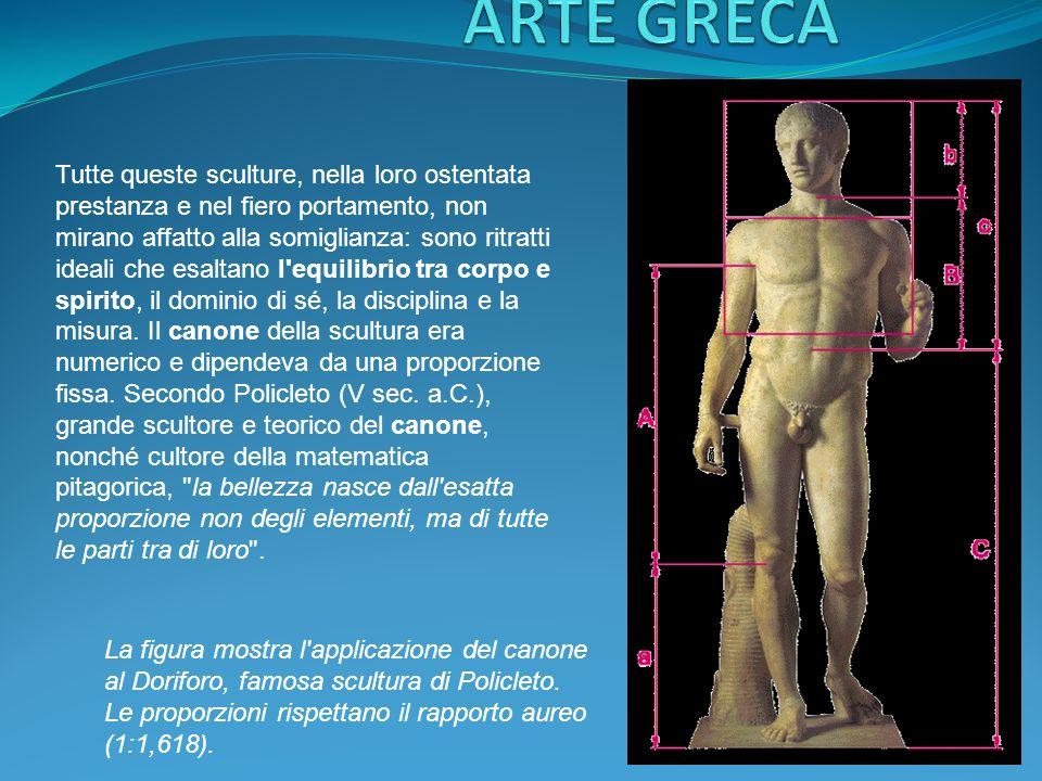 L' ateniese Fidia (ca 490-430 a.C.) fu il maggior rappresentante dell'arte classica greca.