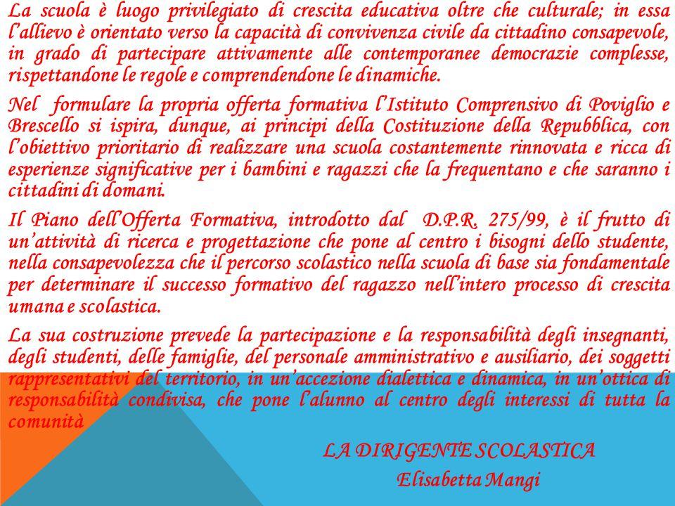 PROGETTI D'ISTITUTO ANNO SCOLASTICO 2014-215 PREVENZIONE DEL DISAGIO E PROMOZIONE DELL'AGIO.PUNTO D'ASCOLTO IL MONDO A SCUOLA LABORATORIO METALINGUISTICO INTEGRAZIONE EDUCATORI DSA BES