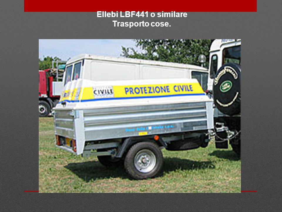 Ellebi LBF441 o similare Trasporto cose.
