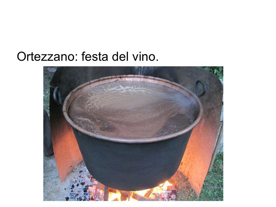 Ortezzano: festa del vino.