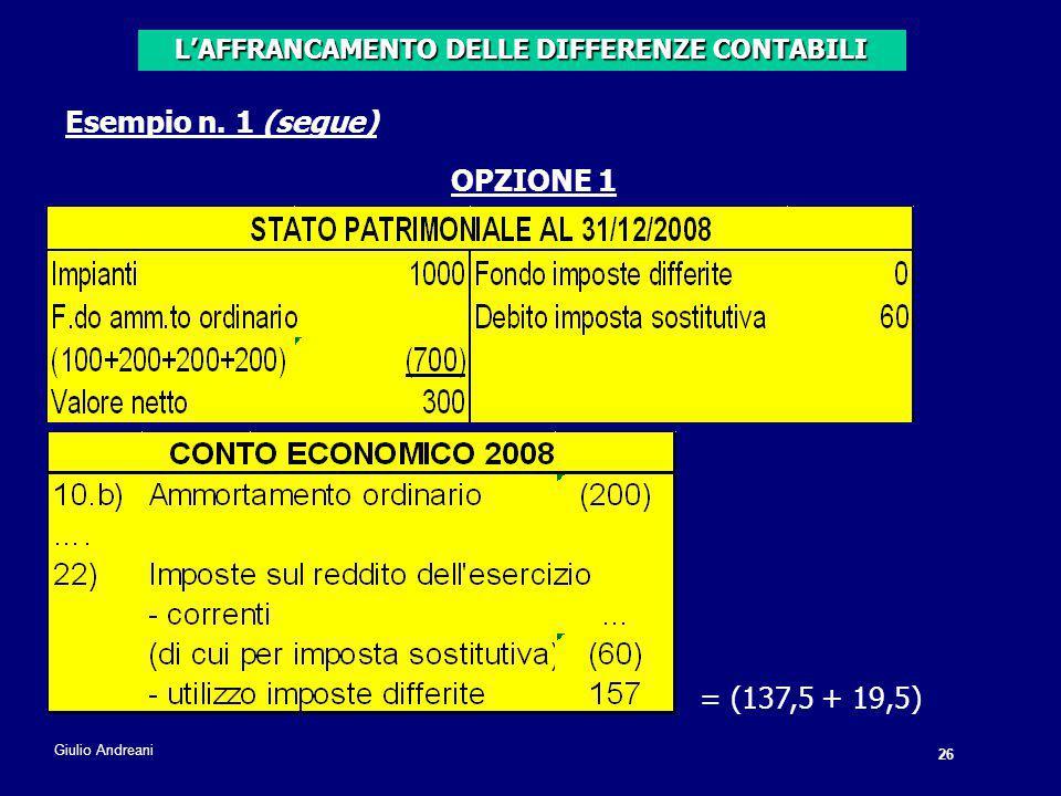 26 Giulio Andreani Esempio n.