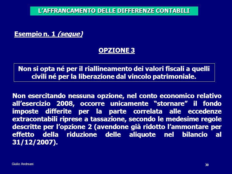 30 Giulio Andreani Esempio n.