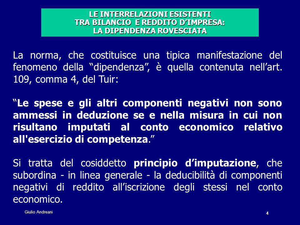 5 Giulio Andreani.Anteriormente al D.Lgs.
