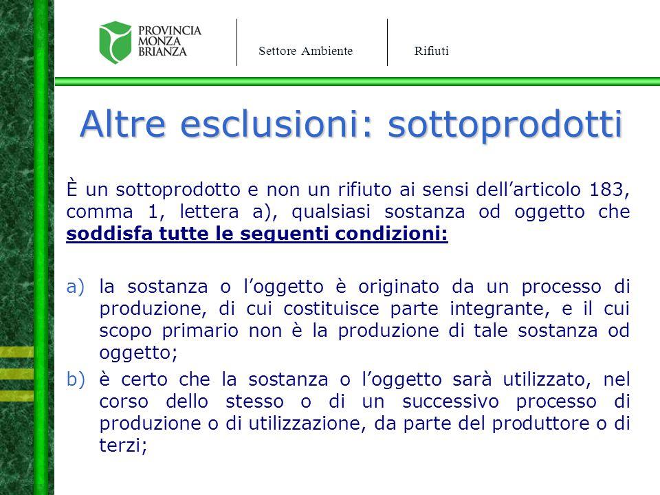 Settore AmbienteRifiuti Iscrizione Albo In caso di mancato rispetto dell'iscrizione albo nazionale gestori ambientali si procede a : CNR per violazione art.