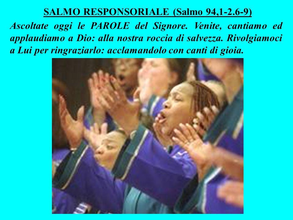 Allora Dio vi ha ascoltato e mi ha risposto: «Quello che mi hanno chiesto mi va bene: farò nascere in mezzo a loro profeti sulla cui bocca porrò LE MIE PAROLE.