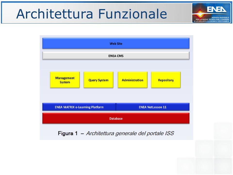 Identificazione delle classi di utenza e dei lori profili; Definizione dei requisiti utente e modellazione utente; Definizione delle specifiche globali del sistema; Analisi dei contenuti (documenti, estratti); Definizione concettuale delle meta entità e delle relazioni; Progettazione logica, fisica dei database distribuiti ed eterogenei; Progettazione funzioni di gestione e interrogazione; Progettazione funzioni avanzate e servizi utente; Integrazione con applicazioni Web - Db (ENEA-Matrix) e portale ISS; Interfacce visuali avanzate utente e agenti software di comunicazione; Validazione e test di usabilità.