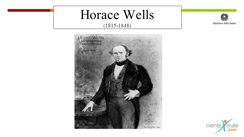 Horace Wells (1815-1848)