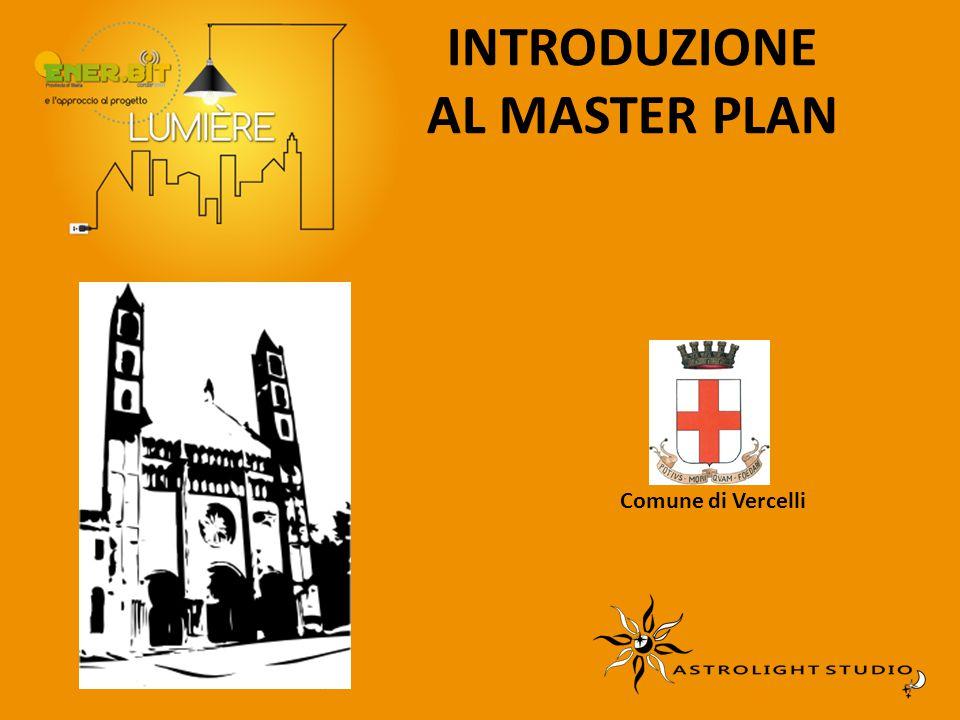 INTRODUZIONE AL MASTER PLAN Comune di Vercelli