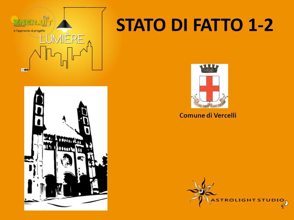 STATO DI FATTO 1-2 Comune di Vercelli