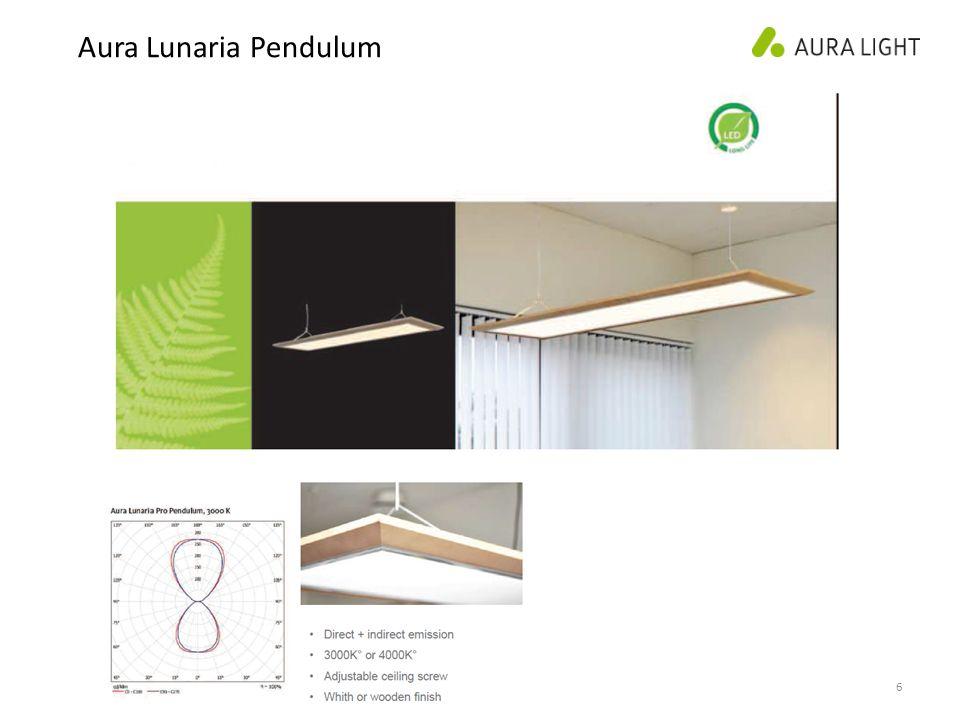 6 Aura Lunaria Pendulum