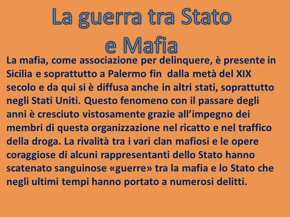 Nel 1992 la mafia rialzò la testa e uccise Salvo Lima, ex sindaco di Palermo. Successivamente vennero uccisi anche i giudici Falcone e Borsellino nell