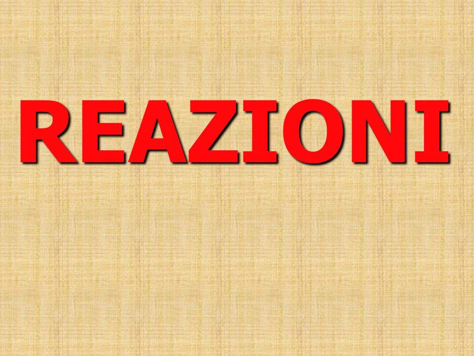REAZIONI