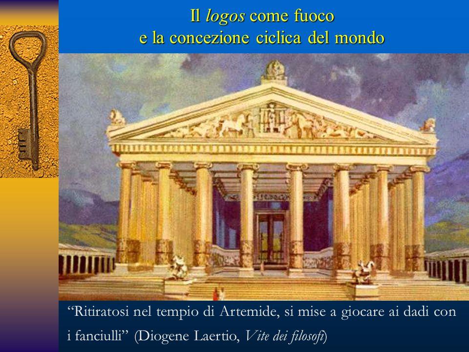 """""""Ritiratosi nel tempio di Artemide, si mise a giocare ai dadi con i fanciulli"""" (Diogene Laertio, Vite dei filosofi)"""