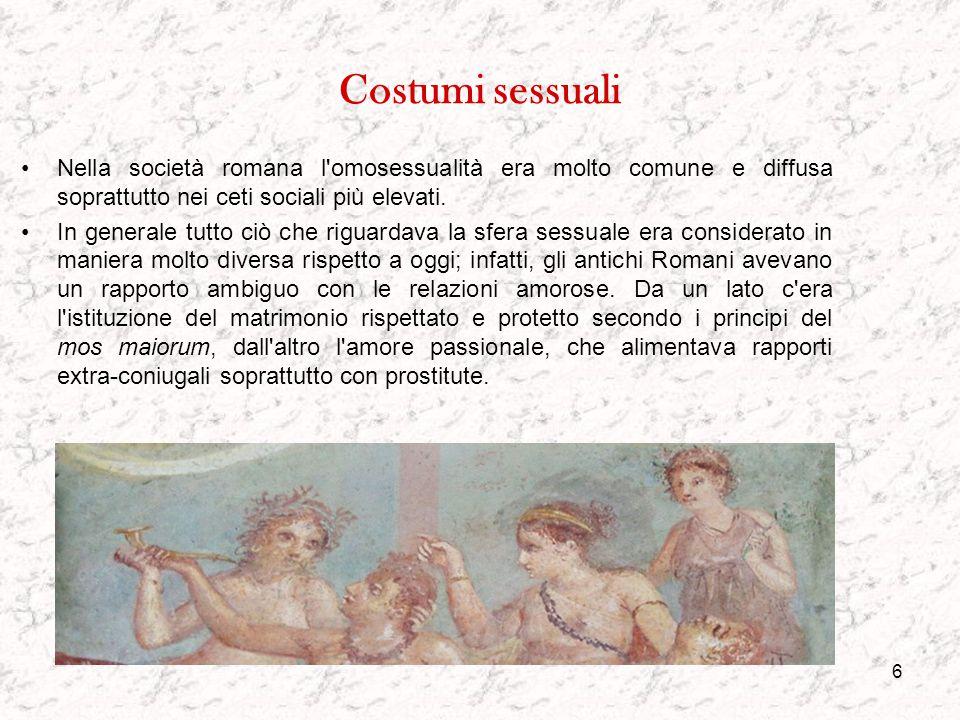 5 Donne, bambini ed anziani Il ruolo delle donne nell'antica Roma si è evoluto nel tempo. A partire dall'assenza di diritti politici nel periodo arcai