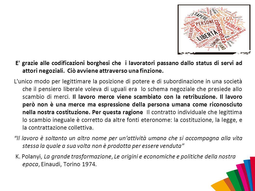 Le restrizioni in materia di lavoro autonomo.
