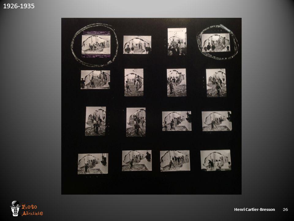 Henri Cartier-Bresson 26 1926-1935