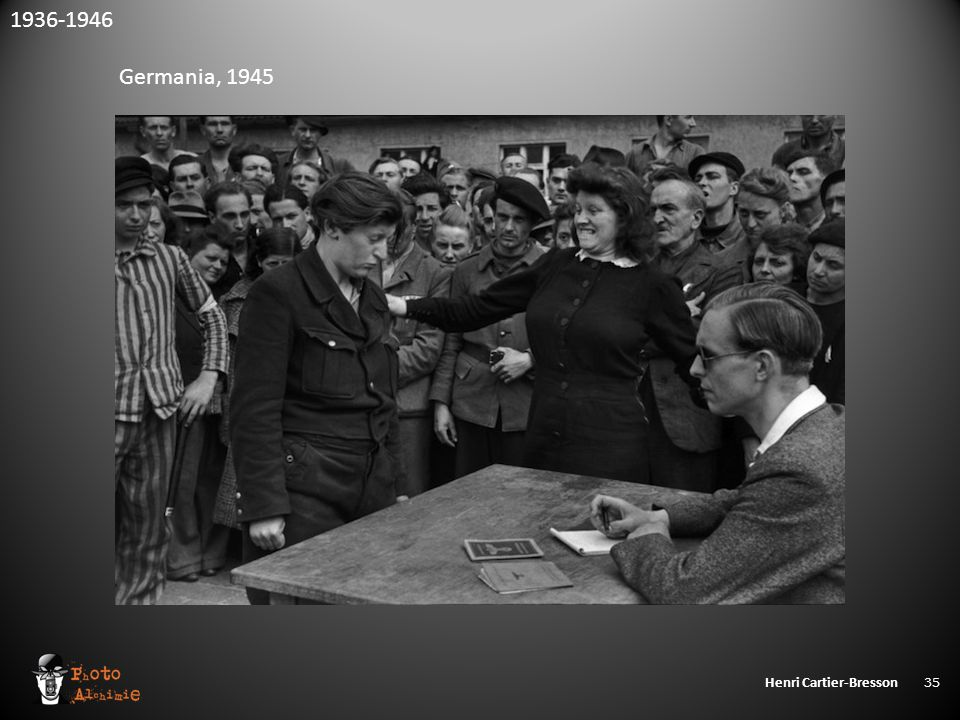 Henri Cartier-Bresson 35 1936-1946 Germania, 1945