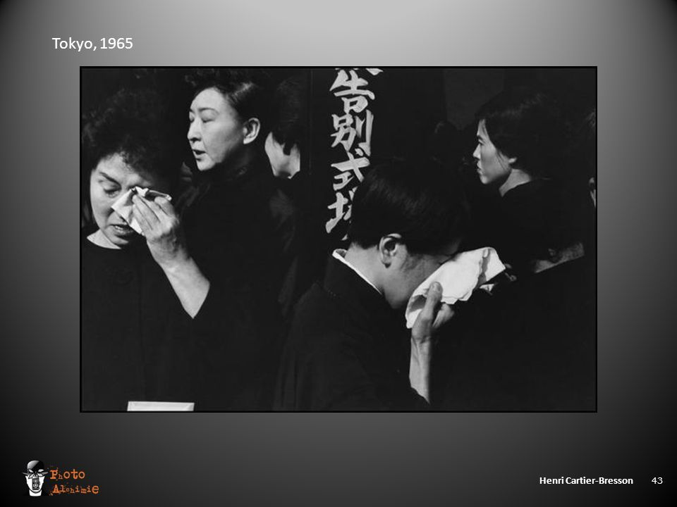 Henri Cartier-Bresson 43 Tokyo, 1965