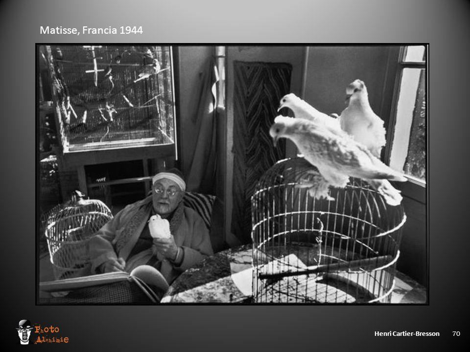 Henri Cartier-Bresson 70 Matisse, Francia 1944
