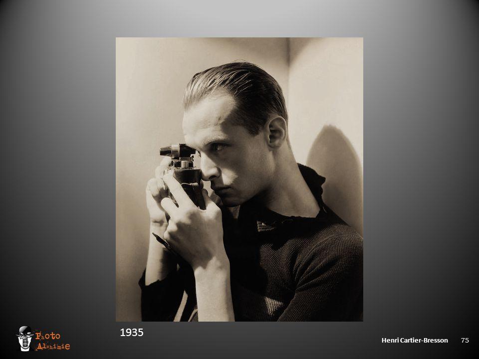 Henri Cartier-Bresson 75 1935