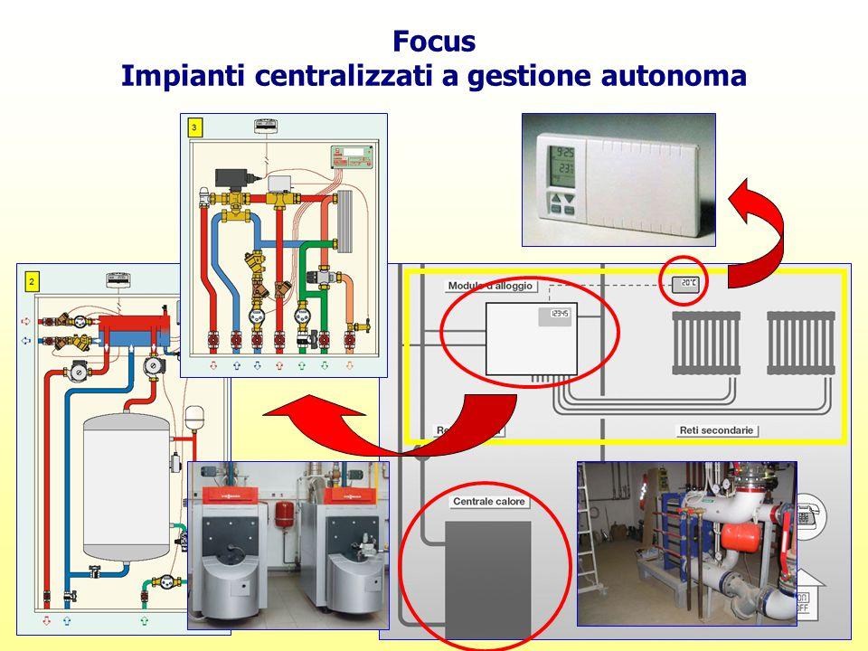 Focus Impianti centralizzati a gestione autonoma