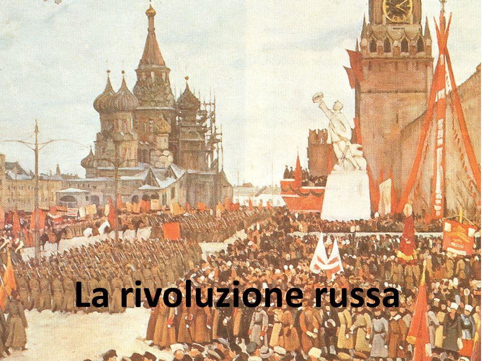 La rivoluzione russa L'URSS di Stalin  Varo del primo piano quinquennale nel 1928:  sviluppo dei settori metallurgico, siderurgico e meccanico  tra il 1928 e il 1939 l'URSS divenne una grande potenza industriale.