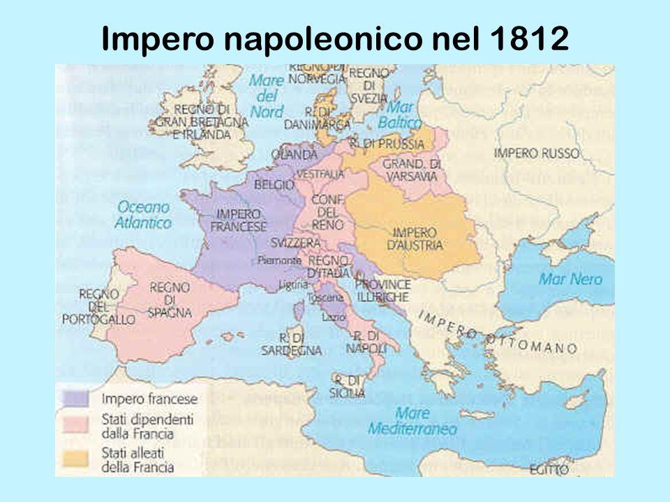 Impero napoleonico nel 1812