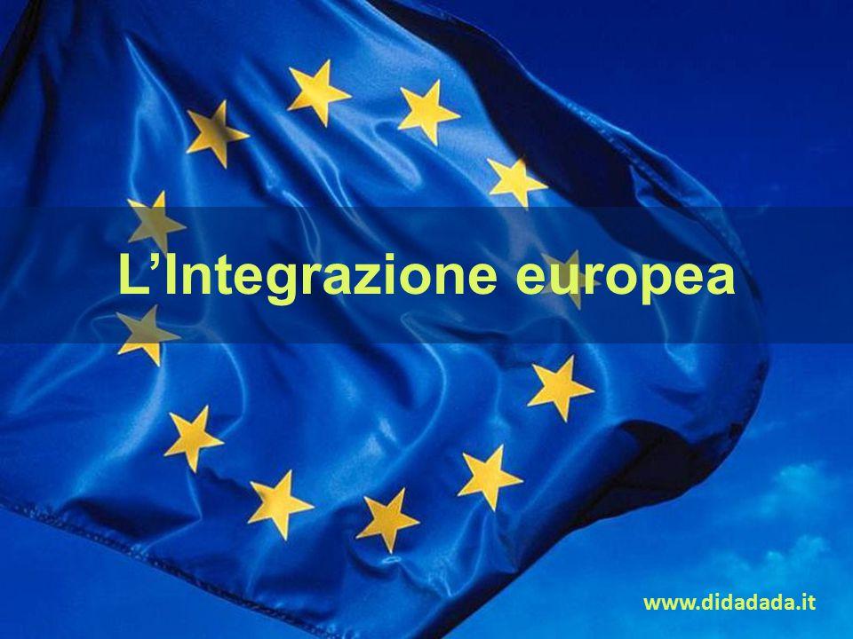 www.didadada.it L'Integrazione europea