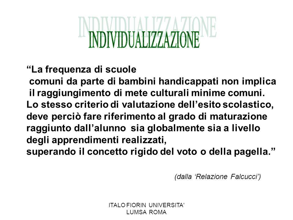 Un bilancio: ad oltre 30 anni dalla scelta coraggiosa compiuta dall'Italia ci poniamo alcuni interrogativi: In che misura il modello ha effettivamente funzionato.