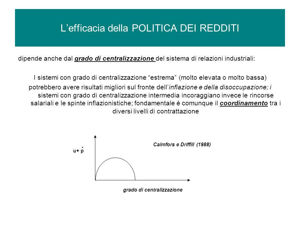 Conseguenza: le RETRIBUZIONI REALI in Italia crescono meno della media comunitaria Tronti 2008