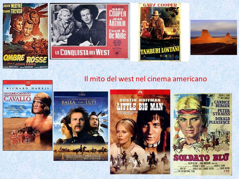 Il mito del west nel cinema americano