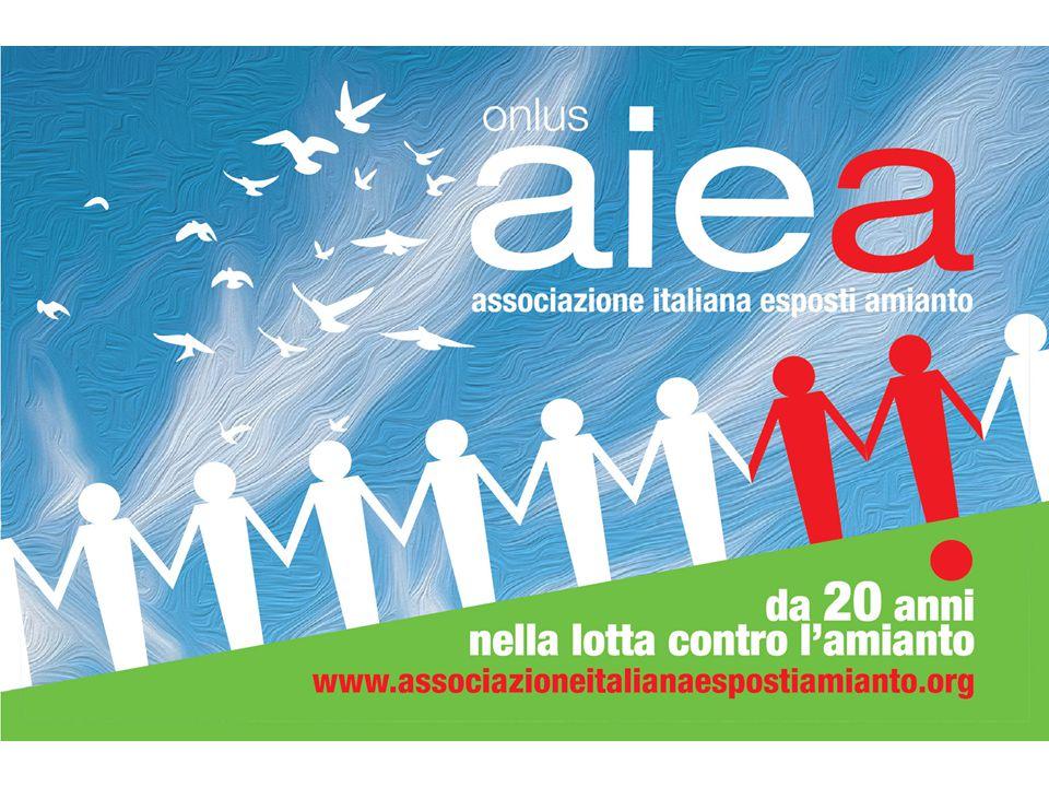 CHI SIAMO La nostra associazione è nata dal movimento di lotta per la salute Medicina Democratica ed è stata fondata il 18 marzo 1989 a Casale Monferrato, con la denominazione di Associazione Esposti Amianto (AEA) La legge n.