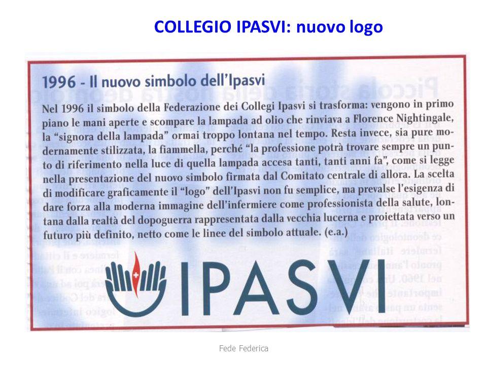 COLLEGIO IPASVI: nuovo logo Fede Federica