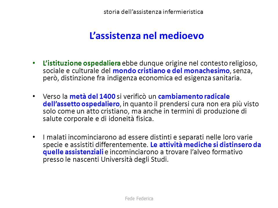 storia dell'assistenza infermieristica '900 italiano Nel 1919 le infermiere costituiscono l'ASSOCIAZIONE NAZIONALE ITALIANA TRA INFERMIERE (ANITI).