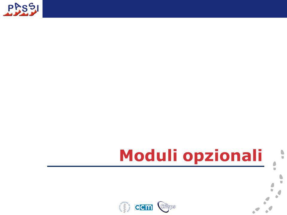 Moduli opzionali