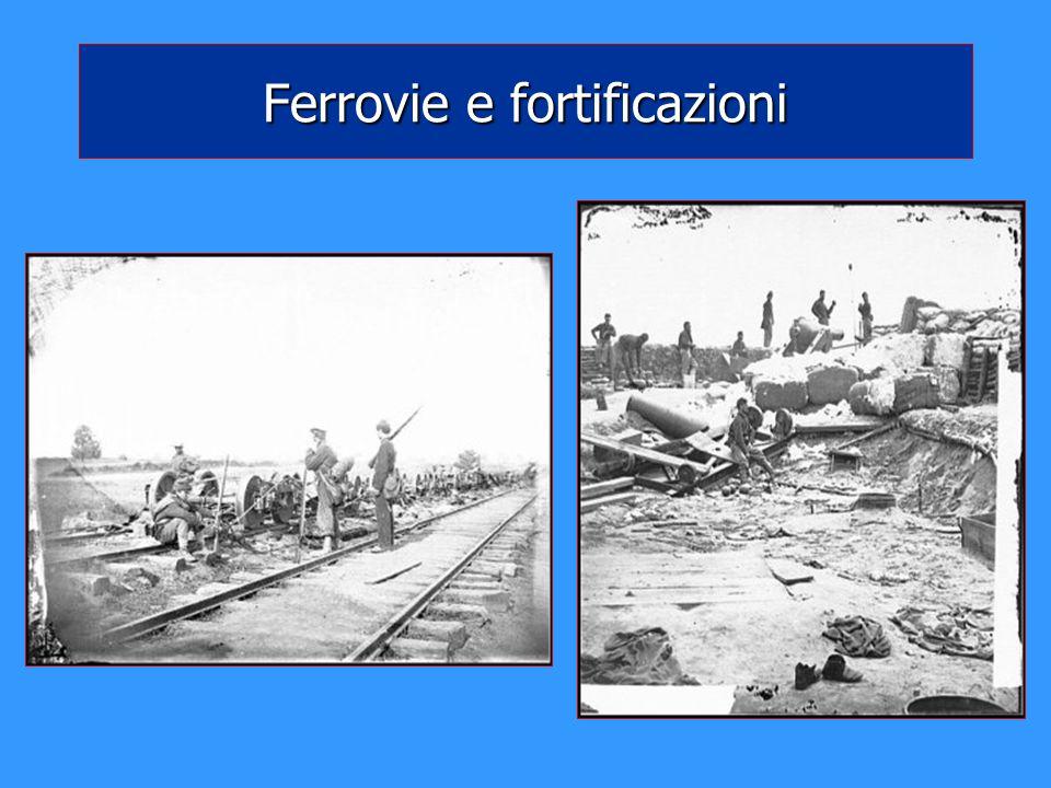 Ferrovie e fortificazioni
