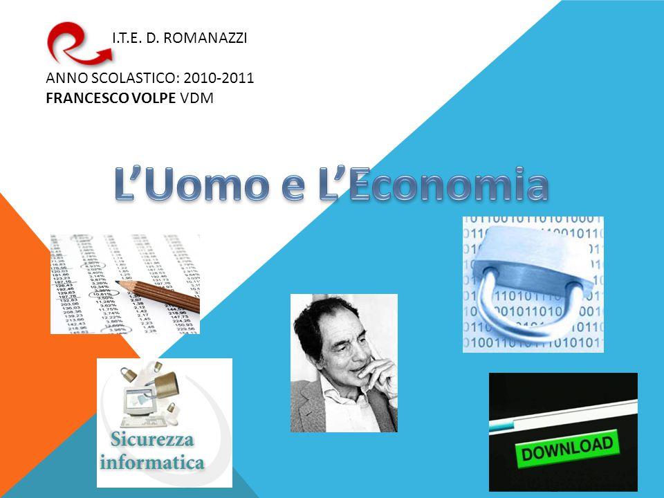I.T.E. D. ROMANAZZI ANNO SCOLASTICO: 2010-2011 FRANCESCO VOLPE VDM