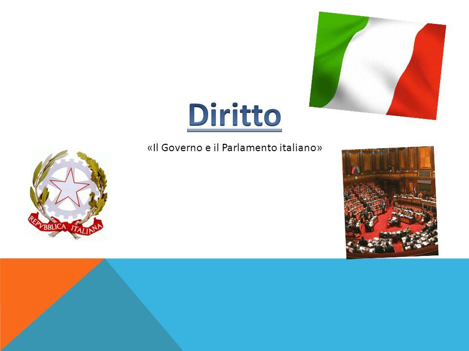 «Il Governo e il Parlamento italiano»