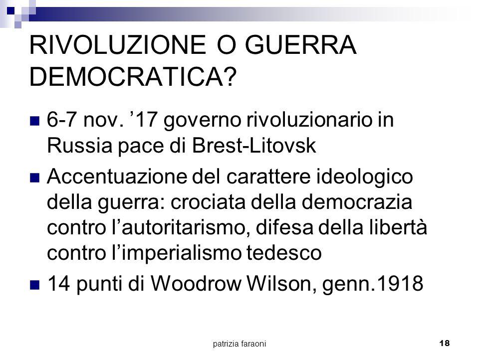 patrizia faraoni17 L'ITALIA E LA DISFATTA DI CAPORETTO Ago.